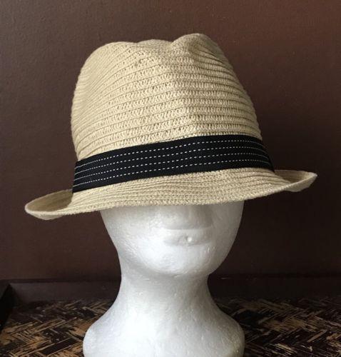 e1495f10269bb 12. 12. Previous. Scala Pronto Women s Paper Braid Short Brim Fedora Hat  Ribbon One Size Straw