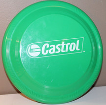Castrol Oil Green Frisbee Garyline Made in USA image 2