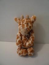 "Jellycat Giraffe Bashful Plush 12"" Brown Cream Soft Stuffed Animal - $12.38"