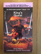 Endless Quest #18 - King's Quest - 1st Printing - July 1984 Collector Grade CYOA - $40.02