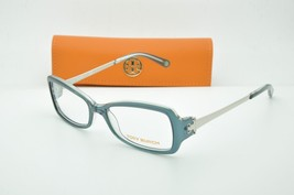 Tory Burch TY 2012 817 Blue Eyeglasses Clear lenses + Case 51mm - $56.95