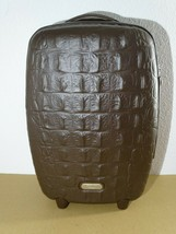 Samsonite Alexander McQueen Black Label Carry-On Suitcase Luggage Crocodile image 2