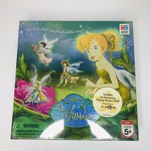 Disney Fairies Board Game - Tinker Bell, Pixie Hollow, Fairy - New Sealed Box - $28.98