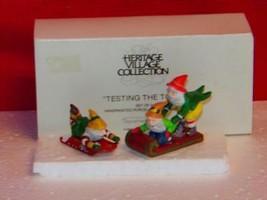 Dept 56 Testing The Toys SET/2 #5505-MIB - $11.76