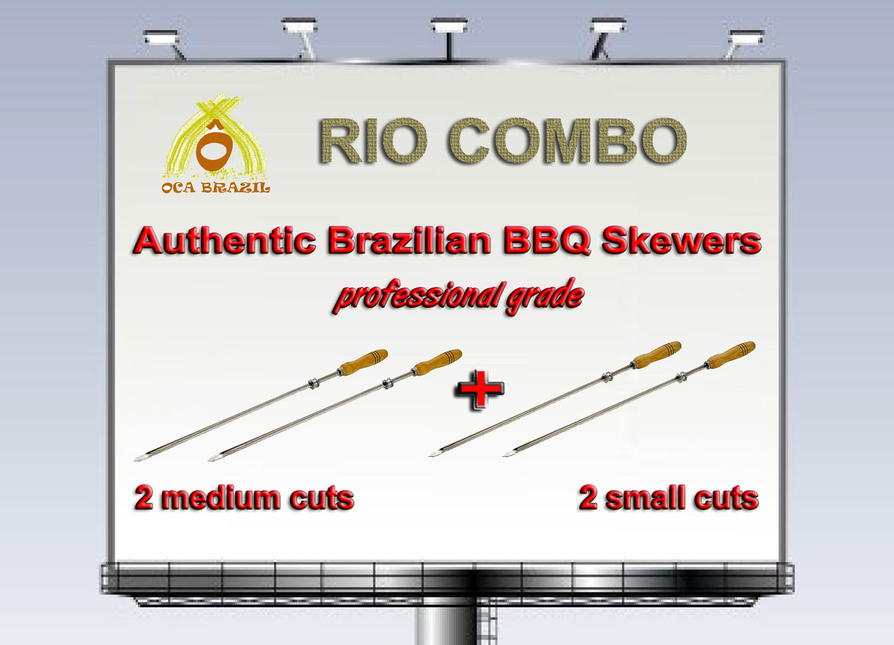 Skewers rio combo