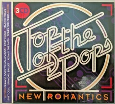 Top Of The Pops New Romantics 80's Hits Compilation Album 3 CD Set - $10.49