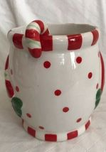 Cracker Barrel Ceramic Christmas Embossed Sweets & Treats Mug & Spoon Set Candy image 5