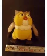 "2.5"" Disney Owl Plastic toy play figure figurine party cake Topper pre-o... - $16.78"