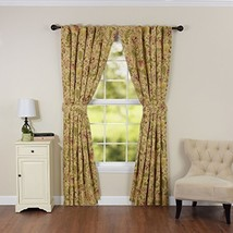"""WAVERLY Curtains for Bedroom - Imperial Dress 100"""" x 84"""" Decorative Single Panel - $53.99"""
