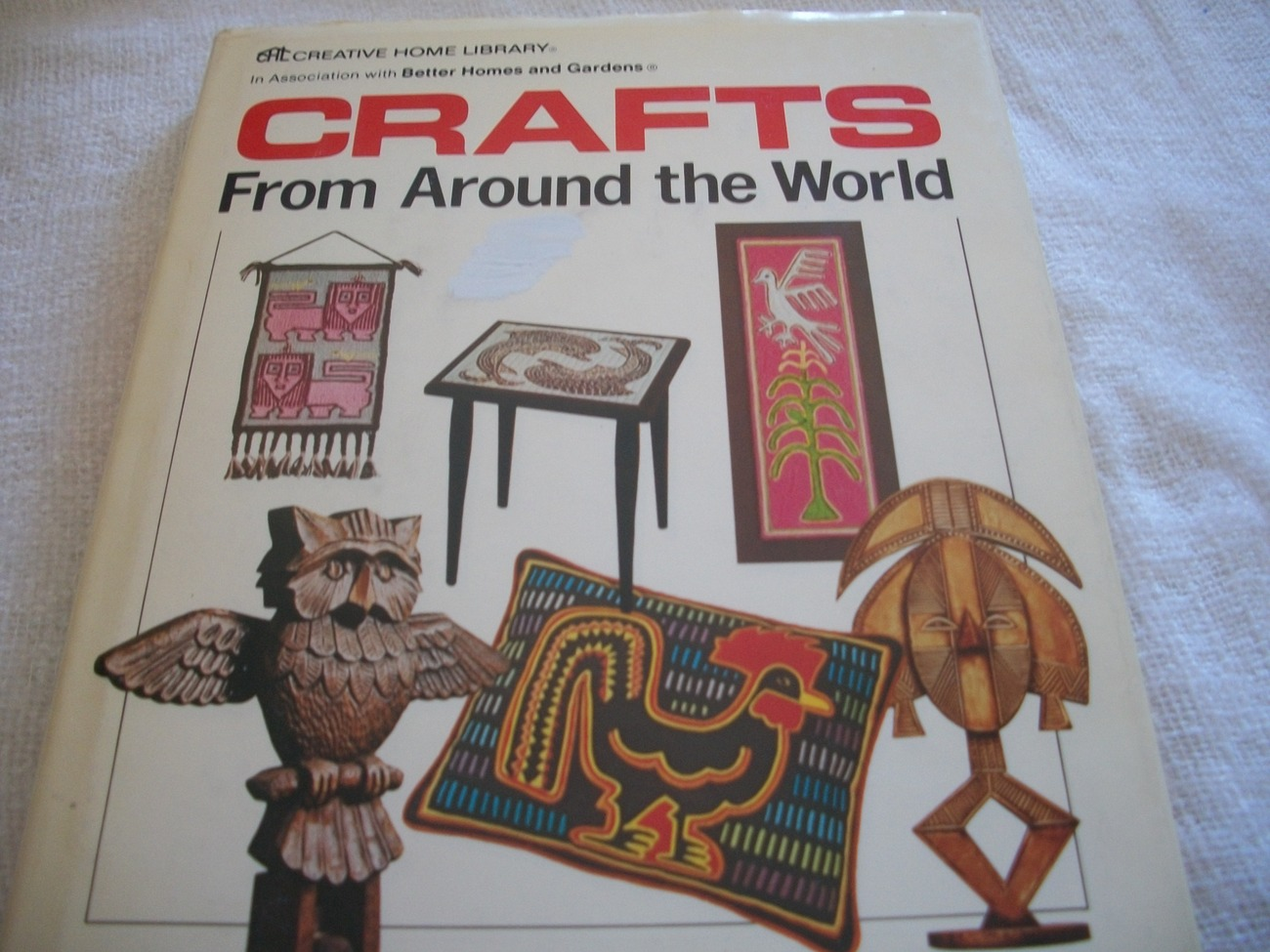 Crafts from around the world craft book other books for Around the world crafts
