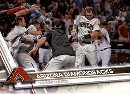2017 Topps #320 Arizona Diamondbacks Team Card - $0.99