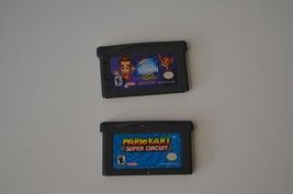 Mario Kart Super Circuit & Jimmy Neutron Game Boy Advance GBA Video Game... - $13.09