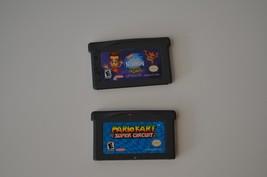 Mario Kart Super Circuit & Jimmy Neutron Game Boy Advance GBA Video Game... - $13.09