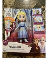 Disney Frozen 2 Story Telling Elsa Interactive Doll Great Christmas Gift... - $26.72