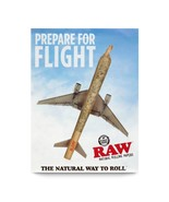 Prepare for Flight Raw Plane Poster 18 x 24 - $9.99