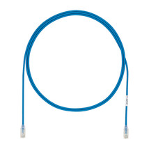 Panduit Cat 6a, 15ft networking cable Blue 4.6 m Cat6a U/UTP (UTP) - $64.31