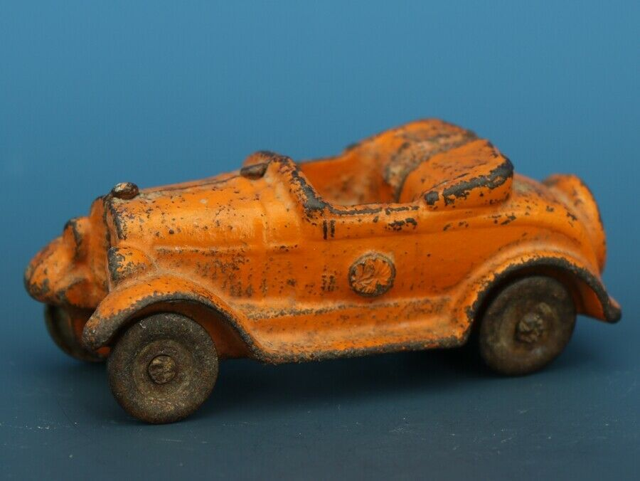 Vintage Kilgore Cast Iron Toy Car Toy Convertible Roadster C.1930