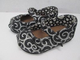 Toms Classic sparkle glimmer loafers shoes SIZE 4 - $14.80