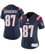 Rob Gronkowski #87 Patriots Women's Jersey All szs Color Rush Custom Emb... - $59.90