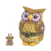 "Boyds Treasure Box ""Ms. Wise w/ Hootie Mcnibble"" #4035824- NIB -2013 - $29.99"