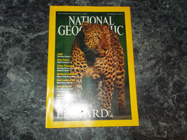 National Geographic Magazine October 2001 Leopard - $2.99
