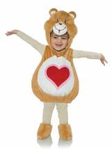 Underwraps Care Bears Tenderheart Plüsch Kleinkinder Halloween Kostüm 27602 - £28.60 GBP