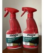 2x MAGIC Granite Cleaner & Polish Spray 14 fl oz. Marble/Quartz Disconti... - $39.59
