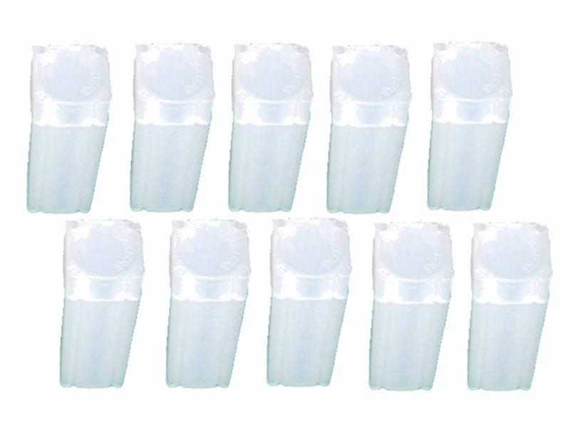Penny/Cent Square Coin Tube Storage, Numis Brand, 19mm, 10 pack
