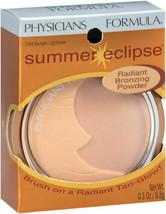 Physician's Formula Summer Eclipse Radiant Bronzing Powder Moonlight/Light .3 oz - $6.19