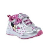 NEW NWT Girls Toddler/Child Minnie Mouse Sneakers Size 12 Polka Dot - $18.99