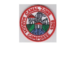 Boy Scouts of Canal Zone BSA March Camporee 1968 CZ Council Panama 3 inches. - $9.99