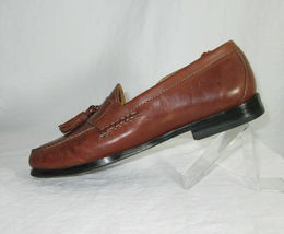 Cole Haan Shoes Size 7.5 Loafers Mens Brown Leather Tassels C06982 India  image 7