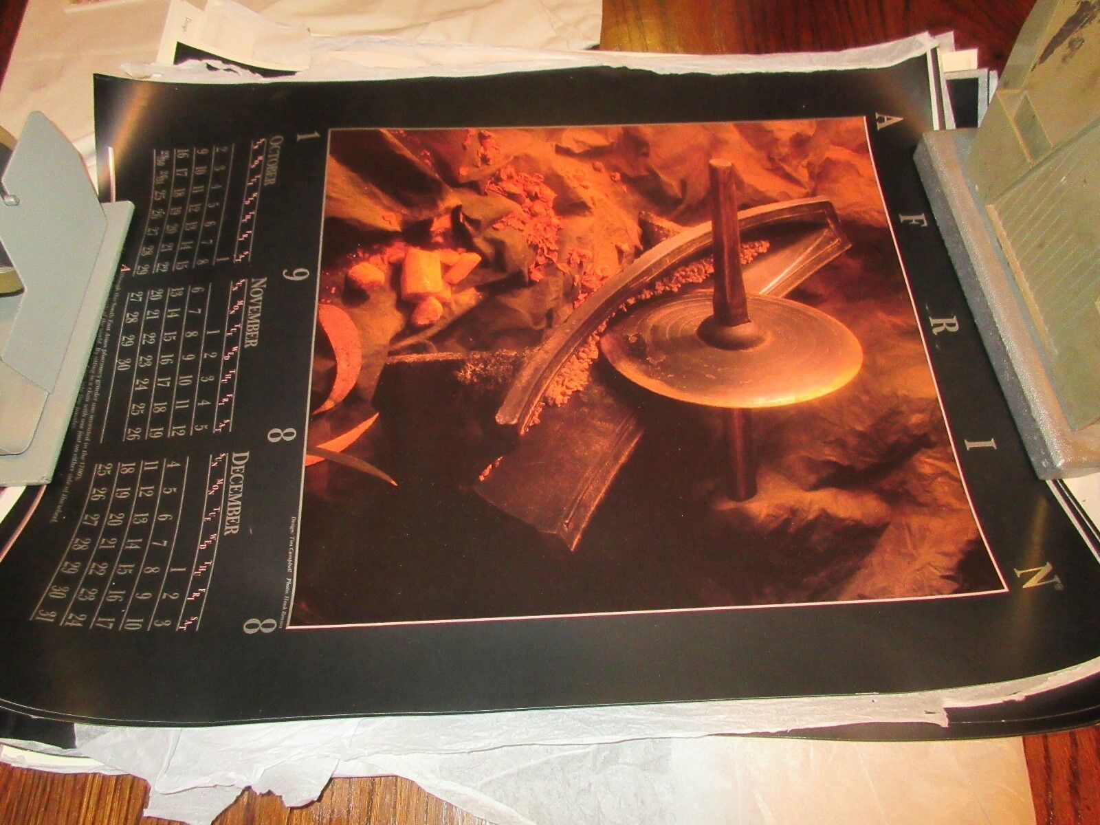 """Rx ,Pharmacy , POSTER ,18"""" X 24"""" ,Photographs Depicting History & Heritage ,1988 image 3"""