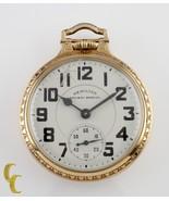Gold Filled Hamilton Railway Special Gr 992B Open Face Pocket Watch 21 J... - $1,485.00