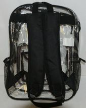 Shalam Imports Brand Eurogear Extreme Adventure Clear Backpack Black image 3