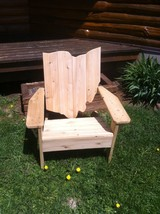 Set of Two Ohio Cedar Adirondack Chairs - $269.00