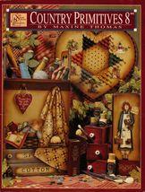 Tole Decorative Painting Book Country Primitives 8 Maxine Thomas 4 Seaso... - $13.99