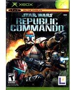 XBOX - Star Wars - Republic Commando - $18.95