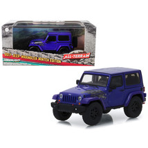2017 Jeep Wrangler Winter Edition Xtreme Purple All-Terrain Series 1/43 ... - $25.56