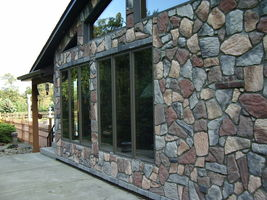 SUPPLY KIT+ 24 FIELDSTONE MOLDS MAKE 1000s OF STONE VENEER AND ROCKS FOR PENNIES image 5