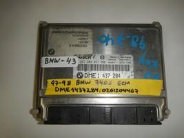 97-98 BMW 740    ECM ECU # ME1437284 / 0261204467  ( PLEASE MATCH # (BMW... - $34.60