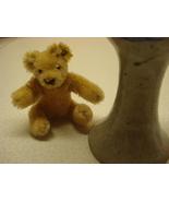 Steiff teddy bear vintage Bendy w/ ear button collectible 0201/11 MPN 01361 - $49.99