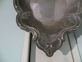 Vintage small silver nut/candy dish made by The International Silver Company image 3