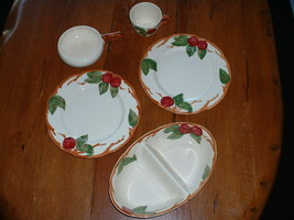 Franciscan APPLE -- several pieces 1940 to 1953 - $19.99