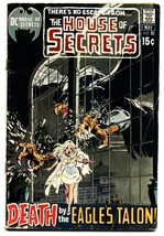 HOUSE OF SECRETS #91 comic book 1971-DC HORROR-WILD EAGLE COVER - $27.74