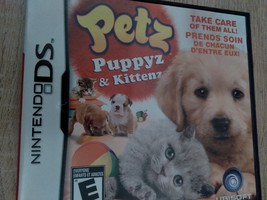 Nintendo DS Petz Puppyz & Kittenz image 1