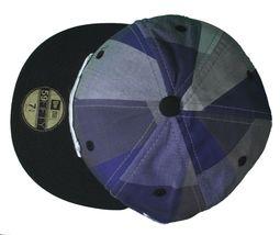 Dissizit Dx11 OS Vichy Bleu & Noir NEW ERA 59FIFTY Ajusté Baseball Chapeau Nwt image 6