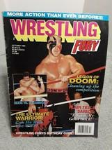 Wrestling Fury Magazine October 1992 Legion of Doom No Centerfold Poster - $5.93