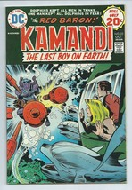 Kamandi #22 The Last Boy on Earth DC Comic Book from 1974 The Red Baron ... - $3.59