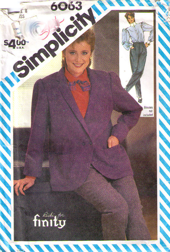 Simplicity Sewing Pattern (1980s): 4 customer reviews and 1182 listings
